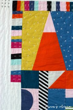 Great quilting by Nancy Purvis / Owen's Olivia