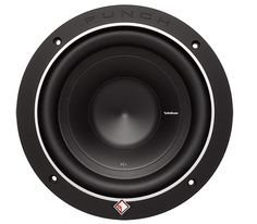 """Rockford Fosgate P1 8"""" is the first in a family of famous """"Punch"""" subwoofers. The P1S8-8 features an 8-Ohm voice coil, 200 Watts RMS power handling, and can accommodate a grille insert using the included soft touch ABS trim ring."""
