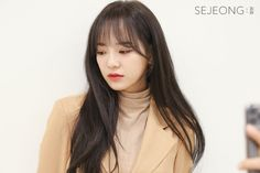 Kim Sejeong, Mini Albums, Girl Group, Behind The Scenes, Idol, Skyline, Actresses, Plant, Hair With Bangs