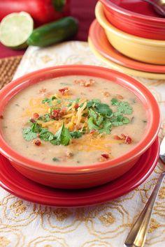Tex-Mex Potato Soup...