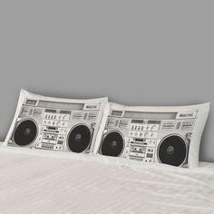 Boombox Pillowcase Set