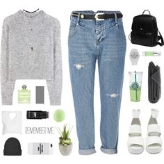 on my mind by omgjailah on Polyvore featuring Wood Wood, River Island, Princess Carousel, Jennifer Haley, adidas, Wet Seal, Topshop, Guerlain, Gatineau and Ethan Allen