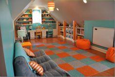 Planning an Attic Playroom