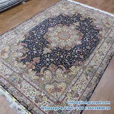 Double Knots Persian Rug Made By Yilong.