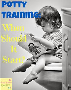 Let's talk potty training. I have noticed a trend of parents waiting longer and longer to potty train. In my opinion this makes it harder on parents AND kids.