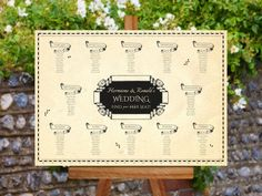 Harry Potter Wedding Marauders Map Seating Plan and Table Numbers by ChameleonWeddings on Etsy