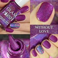 Glam Polish's 2015 Hairspray Collection by simplynailogical !