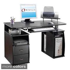 Shop for Executive Style Computer Desk. Get free delivery at Overstock.com - Your Online Office Furniture Store! Get 5% in rewards with Club O! - 10814363