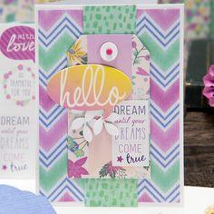 Dream Until Your Dreams Come True Card Maker's Mart April Card Kit of the Month