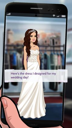Take a look at the wedding dress I designed for my big day! #demipathtofame http://bit.ly/EpisodeHere