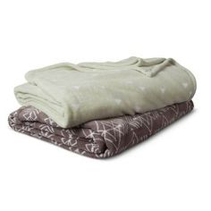 Bed Blanket Microplush Printed - Room Essentials™