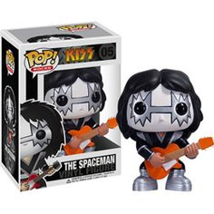 Funko POP! Rock - Kiss Vinyl Figure - THE SPACEMAN (Ace Frehley) (4 inch)