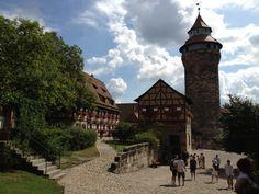 Kaiserburg in Nürnberg, Bayern