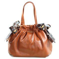 6d1f8ca002c8 2011 Prada Serpentine Leather handbag BN1760 Brown   238  from  bagspurseonline.com