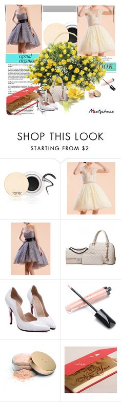 """""""NASTYDRESS"""" by b-mila ❤ liked on Polyvore featuring мода, tarte, Jane Iredale, DENY Designs и nastydress"""