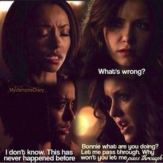 """#TVD 5x15 """"Gone Girl""""- Katherine and Bonnie"""