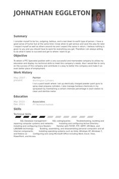 painter resume samples visualcv database professional construction templates showcase your talent. Resume Example. Resume CV Cover Letter