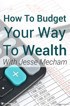 Don't think you need a budget? Jesse Mecham (founder of You Need a Budget) explains why budgeting is the cornerstone of your wealth plan and how you can make your money work for you. Surprisingly it's probably not what you think. Financial Literacy, Financial Goals, Financial Planning, Savings Challenge, Savings Plan, Investment Advice, How To Become Rich, Investing Money, Retirement Planning