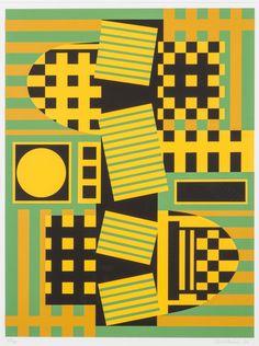 Sam Vanni, 1984, litografia, 68x51 cm, edition 62/75 - Hagelstam A148
