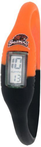 Oregon State Beavers NCAA Digital Silicone Watch (Multi-Color) by Rumba Time. $19.95. Water Resistant. 3 Different Sizes for Everyone!. Digital Silicone Unisex Watch. Ultra Lightweight at only 10 grams. Comes in a test tube packaging. Hey sports fans! Are you up for anything?  This is the ultra stylish and comfortable silicone digital watch that started the trend.  You'll have no problem mixing and matching your favorite team's colors. Small-Children and Small Women,...