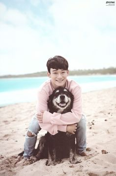 Chen - 170314 Second official photobook 'Dear Happiness' - [SCAN][HQ] Credit: 나의 빛, MY LUZ B!.