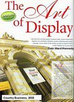 Article for Smart Retailer Magazine: The Art of Retail Display. http://www.smart-retailer.com/growyourbiz/displaydesign/Story.aspx?ID=1571196