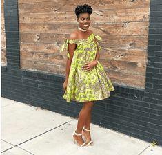 Latest Ankara Dress Styles - Loud In Naija Short African Dresses, Latest African Fashion Dresses, African Print Dresses, African Wear, African Attire, African Style, African Fashion Designers, African Inspired Fashion, African Print Fashion