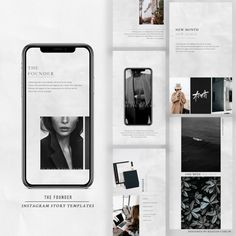 The Founder Instagram Stories Pack – @keagankingsley Instagram Story Template, How To Introduce Yourself, Packing, Photoshop, Social Media, Templates, Inspiration, Bag Packaging, Biblical Inspiration
