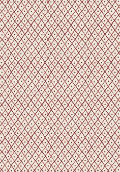 MINI TRELLIS, Red, AT78755, Collection Palampore from Anna French