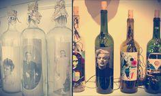Reinventando a decoração com garrafas de vidro