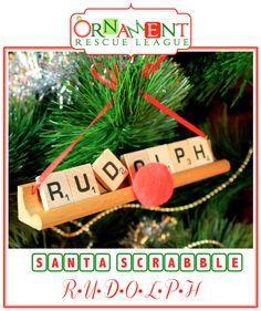 Ten Fun And Easy Scrabble Ornament Ideas Scrabble Ornaments Diy Scrabble