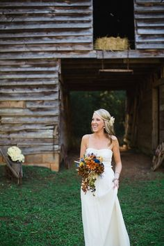 Fall Rustic Outdoor Wedding