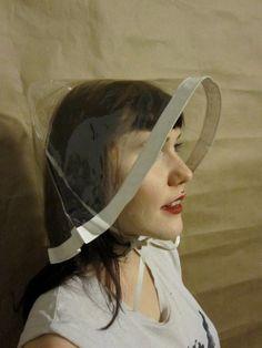 c640785da26 The Most Amazing 1960s Rain Bonnet Hat Rain Bonnet