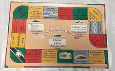 NEW Not Played With THE CLASSIC CAR  Game 1990 Classic Enterprises Board GAME  | eBay