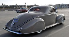 '39 Lincoln Zephyr 3 Passenger Coupe - SLINKN (BTW, Zephyr is the west wind)
