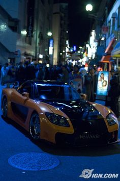 The Fast and the Furious: Tokyo Drift Car of the Day: VeilSide RX-7 - IGN