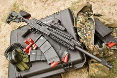 Saiga 12k shotgun