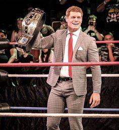 Cody NWA World Heavyweight Champion Nwa Wrestling, Wrestling Stars, Wrestling Superstars, Cody Rhodes, Walking Tall, Professional Wrestling, Favorite Tv Shows, Iron Gates, Champion