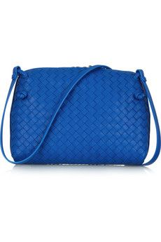 Bottega Veneta Intrecciato leather shoulder bag | NET-A-PORTER