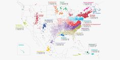 From 770,000 DNA spit samples - mapping how people moved and married in post-colonial USA
