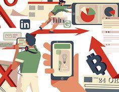 finance illustration editorial #editorial #magazine #illustrationoftheday #illustration #socialmedia