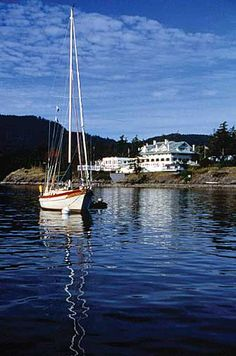I've been there.... The Rosario Resort, Orcas Island, Washington. Absolutely Beautiful! :-)