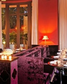 The opulent but laid-back Galerie bar and lounge is the buzzing heart of the hotel. #Jetsetter
