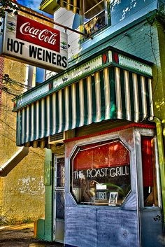 The Roast Grill-Hot Weiners...7 S West St, Raleigh, NC 27603-1849 (919) 832-8292