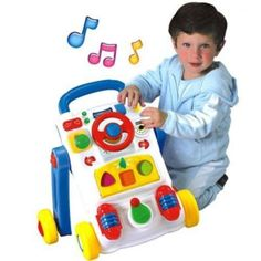 andador para bebê musical