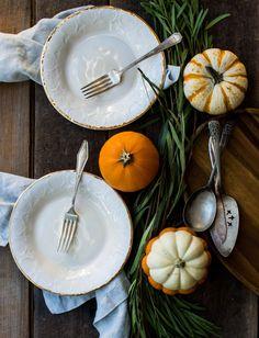 A Pleasant Little Menu   Thanksgiving