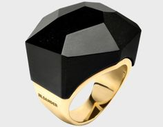 Jil Sander ring. Looks like ring pop!