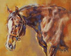 "Daily Paintworks - ""Sunkissed"" - Original Fine Art for Sale - © Jennifer Pratt"