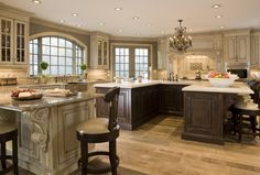 Luxury Interior Designer Haleh Design Inc  Custom Kitchen Cabinetry by Habersham
