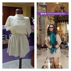 Foto enviado por nuestra fashionista Yadira Bustos luciendo uno de nuestros vestidos